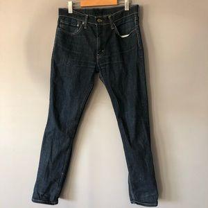 Levi's blue jeans denim 511 size 34